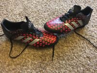 Adiddas football boots for sale size 11 worn once