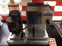 Rancilio Silvia Coffee Machine, Grinder & box