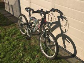 Ammaco Bazooka 18 speed Boys bicycle/ bike