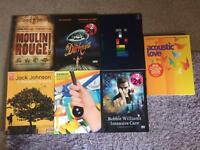 Various Piano/ Vocal/ Guitar song books