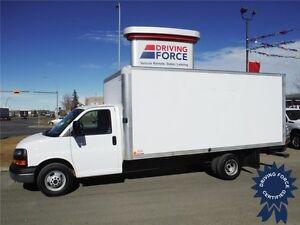 2014 GMC 16ft Cube - Aluminium Van Body - Alberta CVIP Inspected