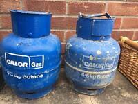 Camping/caravan gas bottles