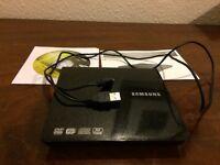 Samsung dvd player/writer