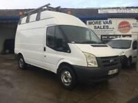 2008 ford transit t350 mwb van 2.4 tdci 140k moto cross van Cheap work van px welcome