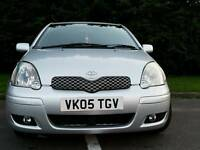 TOYOTA YARIS 2005 1LADY PRIVATE OWNER MOT TILL 23/05/2017 EXEXCELLENT CONDITION