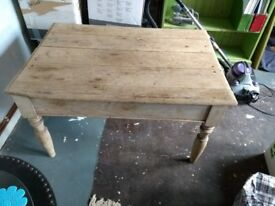 Vintage low wooden table