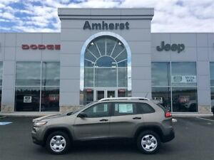 2017 Jeep Cherokee Sport $150* Bi-weekly / 0% for 84 months