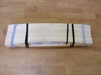 Ikea 'LUROY' wooden double bed slats - new