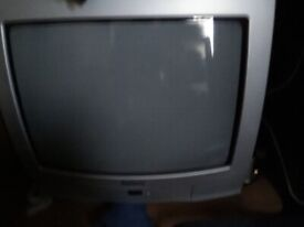Goodmans silver television remote control TV, excellent condition hardly used.