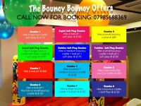 Summer Holiday Kids Party Discounted Offers: Bouncy castle hire, ball pit, soft play combo in London