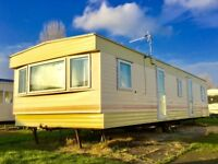 Used Static Caravan Holiday Home For Sale NorthShore Skegness Ingoldmell Chapel SITE FEES & DECKING