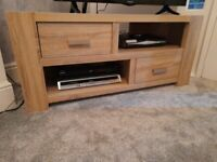 Next wooden tv corner unit