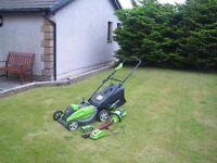 "Lawnmower & hedge cutter package, great ""big boy"" tools, genuine bargain price"