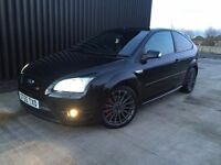 2006 Ford Focus 2.5 SIV ST-3 3dr Full Black Heated Leather, Focus RS Wheels,Finance Available May Px