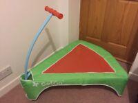 GetGo junior foldaway trampoline, good used condition