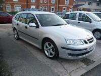 SAAB 9-3 1.8t Vector 5dr (silver) 2007