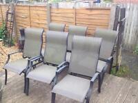 9pc patio set / garden furniture £70