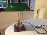 Retro vintage classic bankers desk lamp