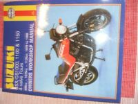 Haynes manual for Suzuki GSX1100 models