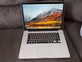 2015 Apple MacBook Pro Retina 15 inch with Force Touch Trackpad