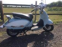 Aprilla Habana 125cc low mileage & in good condition