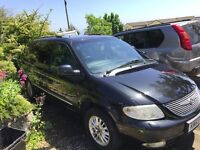 Chrysler Grand Voyager Limited CRD /Fully loaded / 7 seater Full leather interior //2 KEYS £950