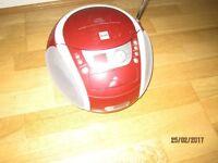 Portable CD player and radio