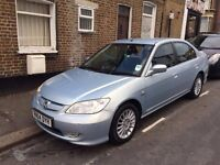HONDA CIVIC 1.3 2004 SE EXECUTIVE IMA HYBRID MOT OCT 2017 with No Advisory.