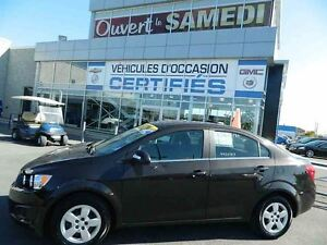 2015 Chevrolet Sonic LT + CAMERA ARRIERE + DÉMARREUR A DISTANCE