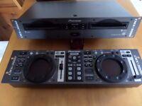 Pioneer CMX-3000 Dual CD Player Professional Rackmount DJ