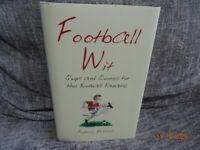 Football Wit by Aubrey Malone