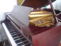 Schimmel 5ft8 Grand Piano Mahogany 1985 special centenary edition