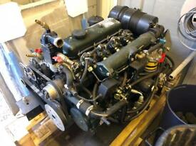 Narrowboat engine Barrus shanks