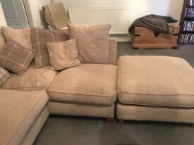 Corner sofa, 2 years old from a smoke and pet free home