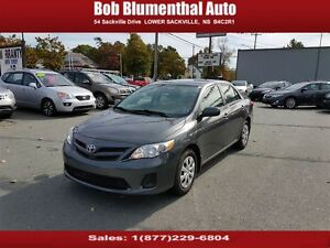 2011 Toyota Corolla Auto w/ AC ($47 weekly, 0 down, all-in, OAC)