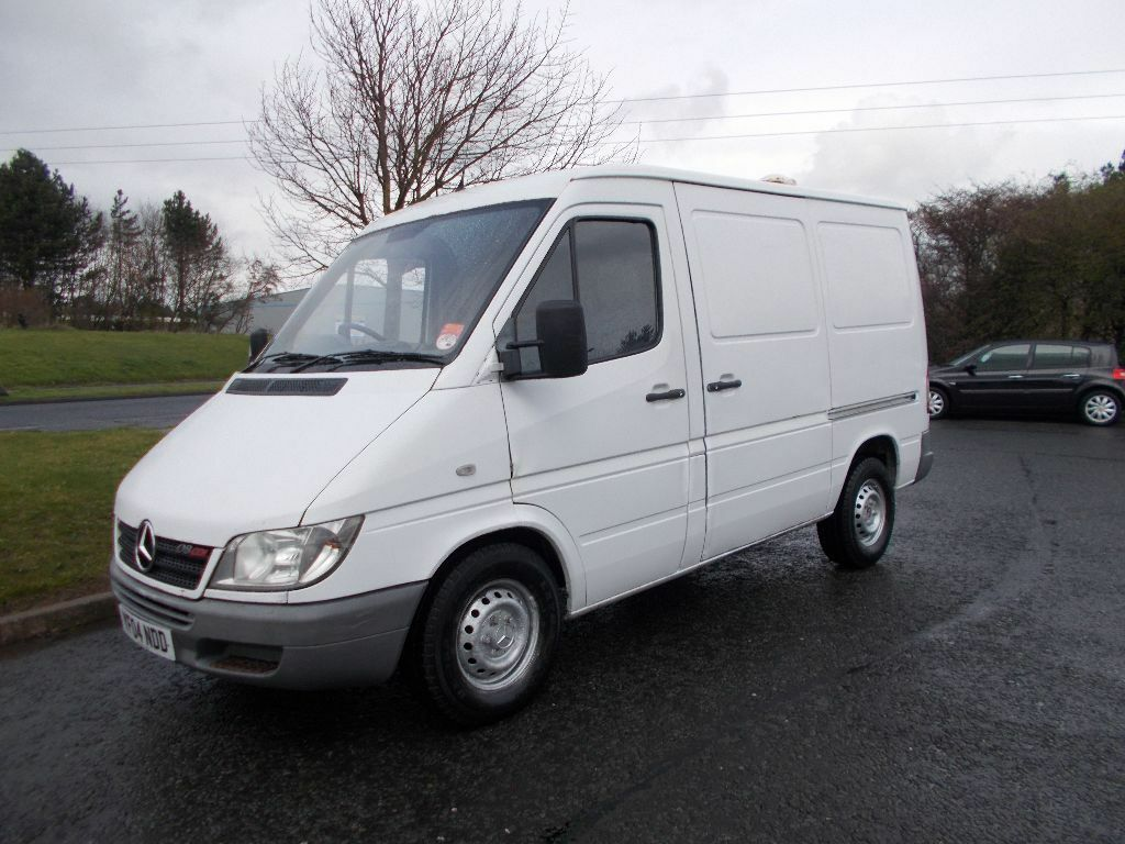 mercedes benz sprinter swb td diesel van brilliant white