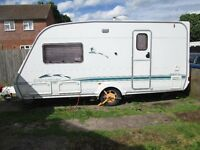 swift challenger 460 se 2004 with motor mover and porch awning