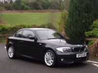 2012 BMW 120d M SPORT COUPE AUTO **ONLY 36,000 MILES - FSH - 1 FORMER KEEPER**