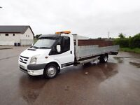 2007 Ford transit recovery truck. XXlwb. st kit