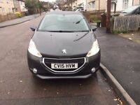 2015 Peugeot 208 1.2 VTi PureTech Active 3dr Bluetooth, Low Mileage, 65mpg