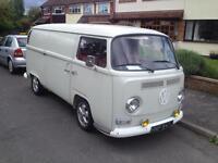 VW Type 2 panel van camper