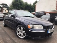 VOLVO S60 D5 AUTOMATIC 2.4 DIESEL FULL SERVICE HISTORY 1 OWNER 2 KEYS LONG MOT 3 MONT WARRANTY