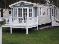static caravan for sale on a quiet park 11 month season double glazed gas central heating