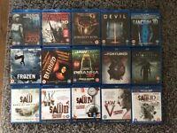 45 Blu rays £100