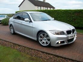 2009 BMW 3 SERIES DIESEL M-SPORT NEW MODEL *LOVELY CAR *F.S.H.*