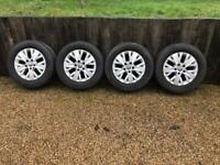 "5x120 16"" Vw Transporter T5 T6 Highline Alloy Wheels Alloys With Tyres Combi"