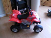 childs battery quad bike