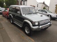 1996 Mitsubishi pajero 2.8 intercooler turbo auto 7 seater,90,000 miles long months MOT
