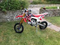 Welsh Pit Bike 125 Race