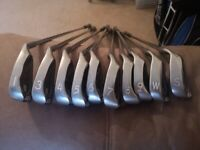 Set of Ping IST (red dot) 3 iron to SW plus 1 iron